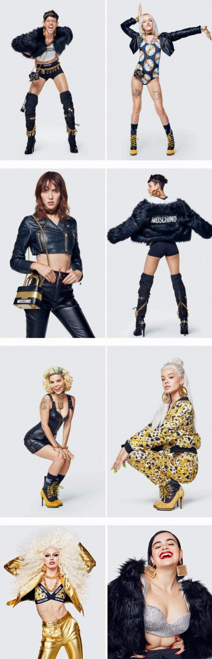H&M x Moschino 联名系列 东部时间11月8日早上8点 开抢!