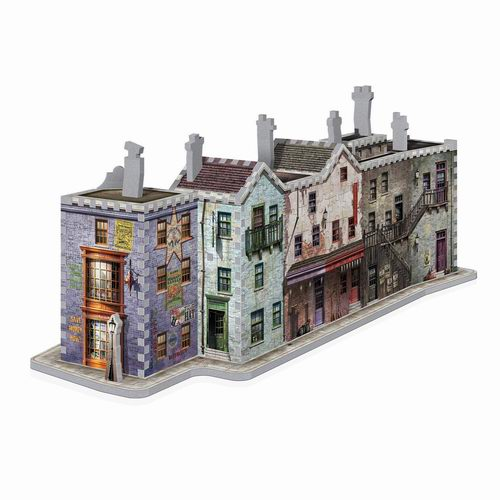 WREBBIT 哈利波特 Diagon Alley 3D立体拼图 29.97加元,原价 43.69加元