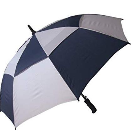 RainStoppers W016NYW 48英寸 拼色双层防风雨伞 14.1加元,原价 26.38加元