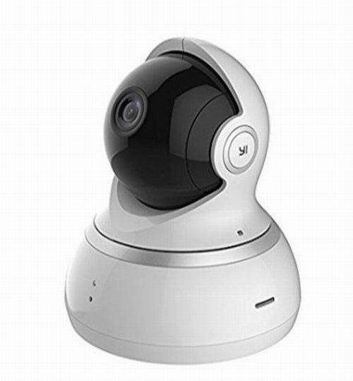 小米 YI 小蚁 1080p 家用高清 智能安防 黑色无线摄像头5折 49.99加元包邮!2色可选!