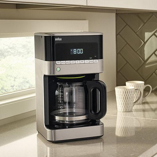 Braun 德国博朗 KF7150BK 可编程 滴滤式咖啡机 99.99加元包邮!