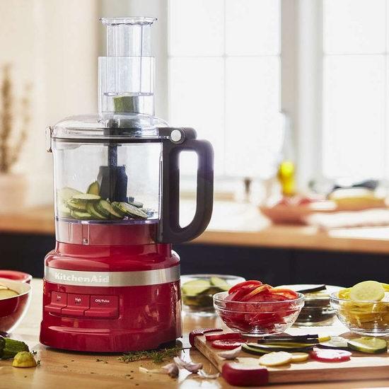 历史最低价!KitchenAid KFP0718ER 7杯量食物料理机5.9折 99.99加元包邮!3色可选!