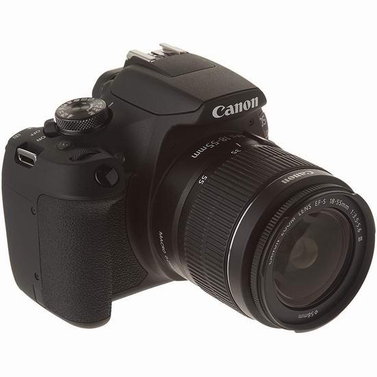 Canon 佳能 EOS Rebel T7 单反相机 + 18-55mm DC III 镜头套装 497加元包邮!
