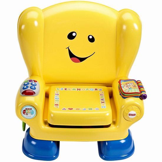 Fisher-Price 费雪 Laugh & Learn Smart 智玩宝宝 智能互动学习椅4.5折 24.97加元!