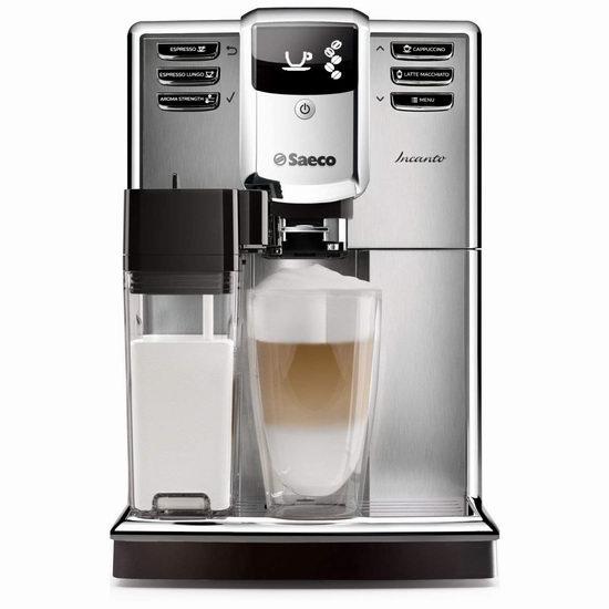 Philips 飞利浦 Saeco HD8917/48 全自动 意式咖啡机5折 899.99加元包邮!