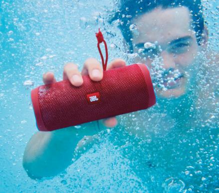 历史最低价!JBL Flip 4 无线便携 防水蓝牙音箱 5.7折  79.99加元,原价 139.99加元,包邮