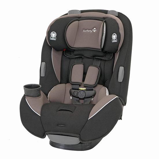 历史新低!Safety 1st 22639CCFU Grow N Go 三合一 婴幼儿汽车安全座椅6折 149加元包邮!会员专享!