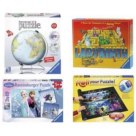 金盒头条:精选多款  Ravensburger Puzzle 拼图及益智棋牌游戏3.5折起!