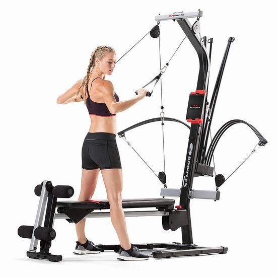 历史新低!升级版 Bowflex PR1000 My17 多功能家用健身器3.7折 349加元清仓并包邮!