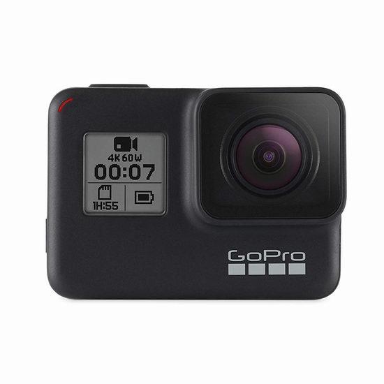 历史最低价!GoPro HERO7 Black 4K超高清 防水运动摄像机 329.99加元包邮!