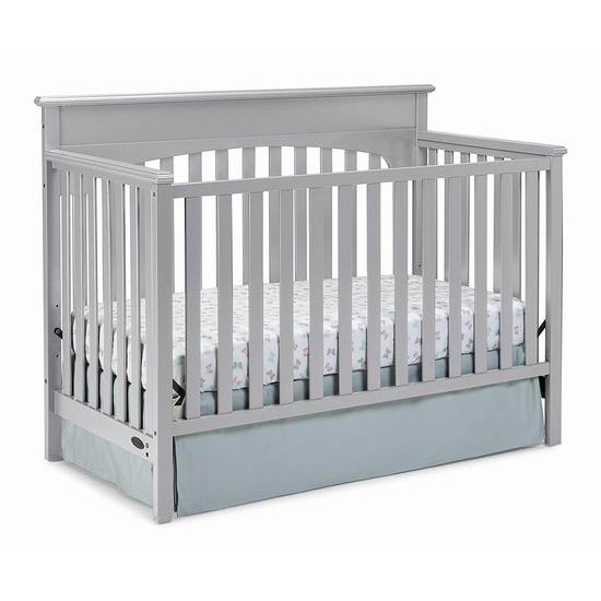 Graco Lauren 四合一成长型 婴儿床6.3折 189.97加元包邮!