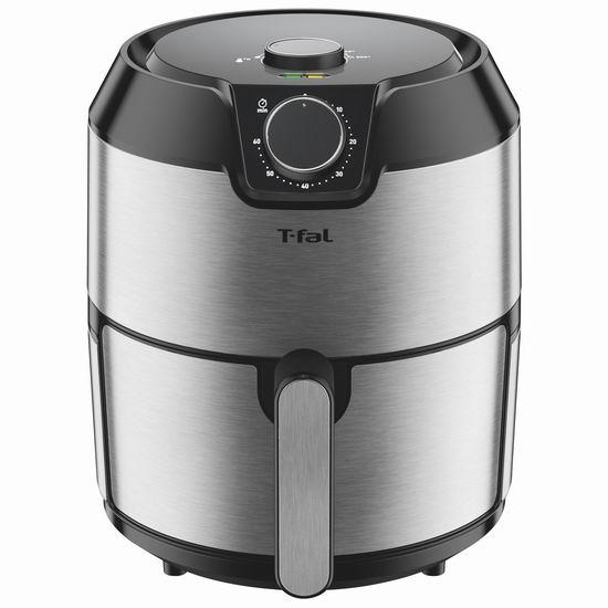 T-fal EY201D50 Prestige XL 4.2升 健康无油快速空气炸锅5.3折 99.99加元包邮!