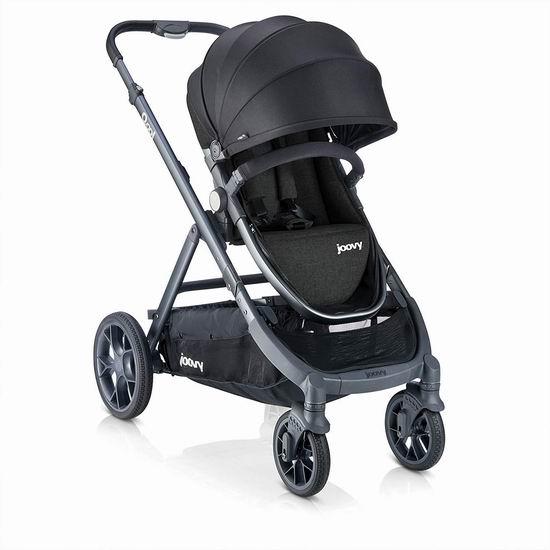 史低价!Joovy Qool 50合一 多功能婴儿推车5.8折 379加元包邮!2色可选!