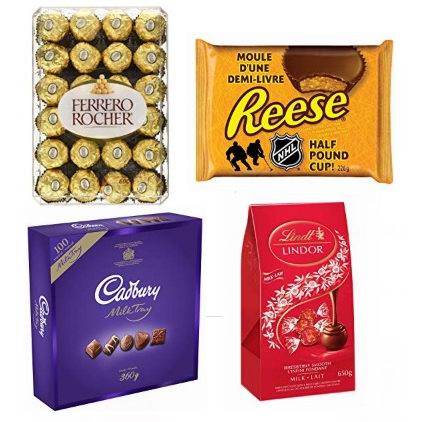 黑五专享:精选 Ferrero 费列罗、Lindt、REESE 等品牌巧克力糖果、口香糖等7折起!