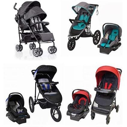 黑五专享:精选 Graco、Evenflo、Summer Infant、Safety 1st、Cosco 等品牌单人双人婴儿推车及套装6.8折起!
