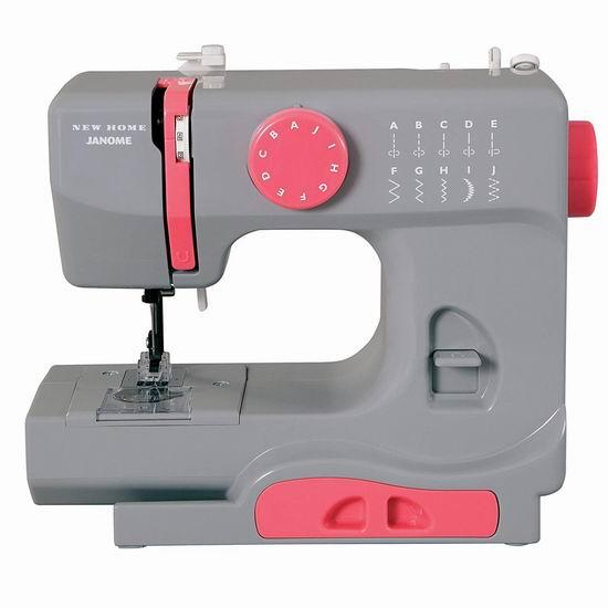 历史新低!Janome Basic 紧凑型电动缝纫机4.7折 69.97加元包邮!2色可选!