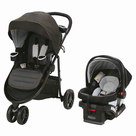 历史新低!Graco Modes 3 Lite 豪华三合一 双向婴儿推车+婴儿提篮4.7折 280.5加元包邮!2款可选!