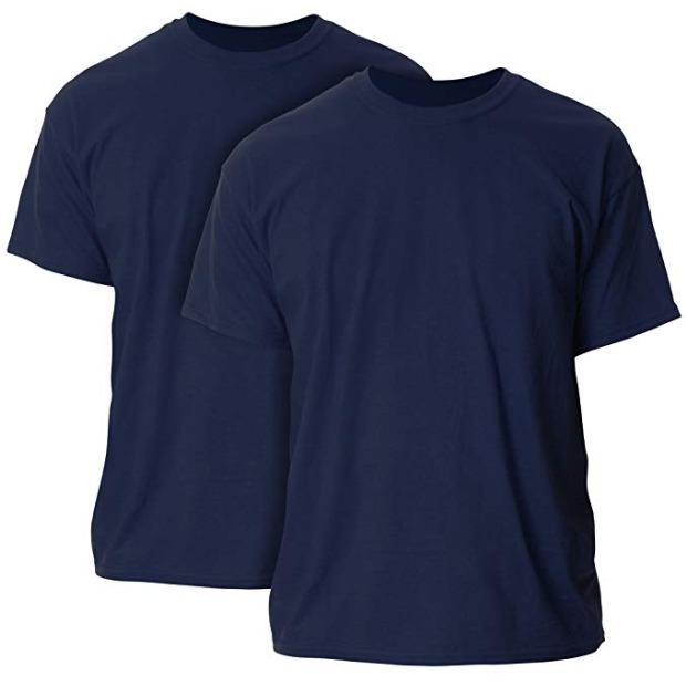 历史新低!Gildan Ultra 男士纯棉短袖T恤2件套4.9折 6.3加元!18色可选!