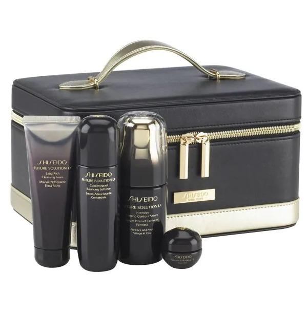 Shiseido Future Solution LX 奢华时光琉璃系列 面部护肤4件套 315加元(473加元)+包邮!