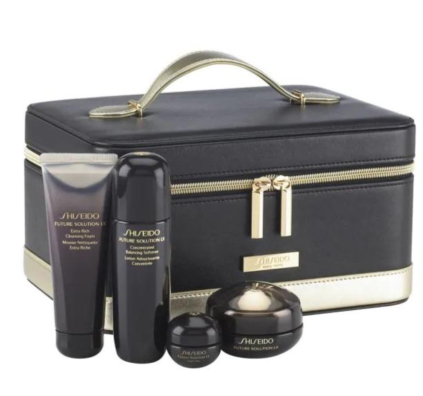 Shiseido Future Solution LX奢华时光琉璃系列  眼部护肤4件套 180加元(价值 323加元)+包邮