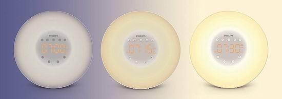 历史最低价!Philips 飞利浦 HF3506/65 带FM收音自然唤醒灯/台灯6折 59.97加元包邮!