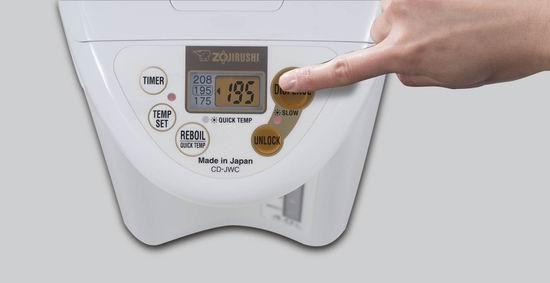 ZOJI 象印 CD-JWC40FZ Micom 4升量 白色微电脑保温 智能热水瓶 184.98加元包邮!