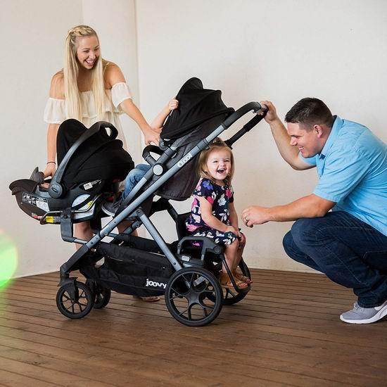 历史最低价!Joovy Qool 50合一 多功能婴儿推车5.4折 349.97加元包邮!2色可选!