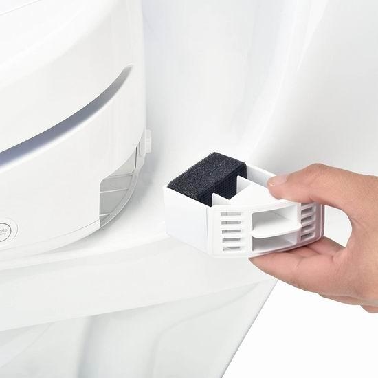 Brondell S1400-EW 豪华顶级 智能遥控马桶盖/洁身器(长型) 536.97加元包邮!