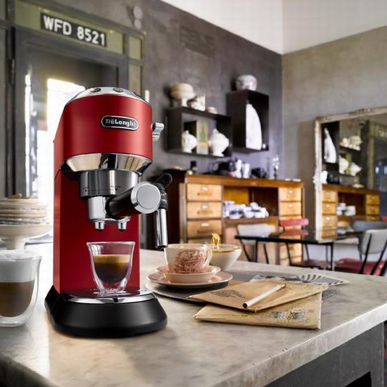 黑五价!DeLonghi 德龙 EC685R Dedica Deluxe 超薄机身 泵压式咖啡机 247.99-249.99加元包邮!4色可选!