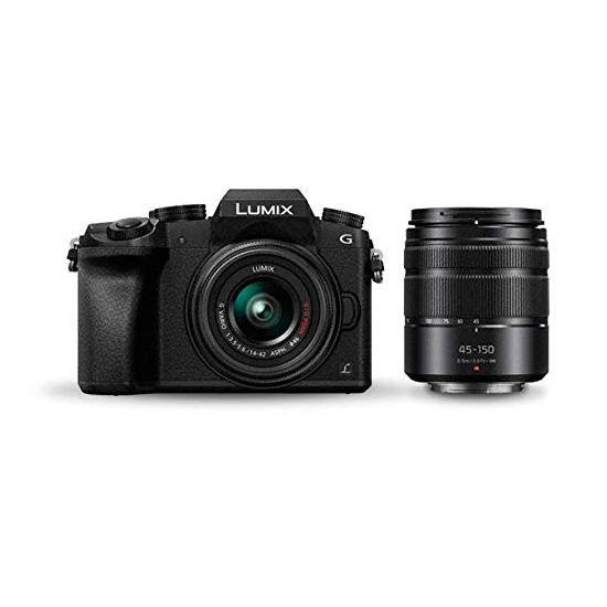 历史新低!Panasonic 松下 LUMIX DMCG7WK 轻旗舰无反相机 + 14-42mm 45-150mm 双镜头套装5.9折 536加元包邮!