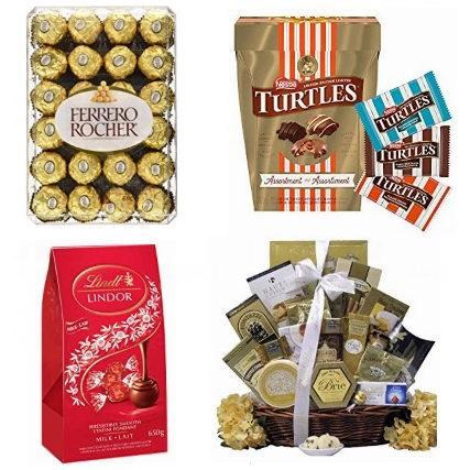 金盒头条:精选 Ferrero、Lindt、TURTLES 等品牌巧克力糖果5.8折起!低至2.39加元!