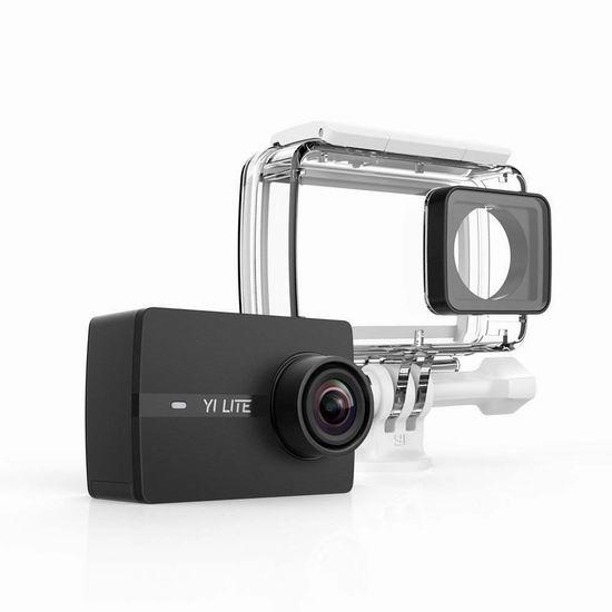 白菜价!历史新低!小米 小蚁 YI Lite 4K 超高清运动相机+防水外壳 69.99加元包邮!