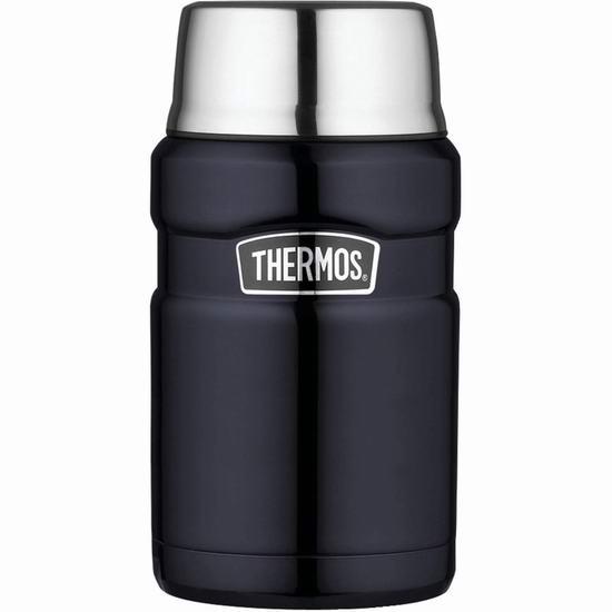 Thermos 膳魔师 SK3020MBTRI4  710ml 经典帝王不锈钢系列保温焖烧午餐罐 29.6加元!