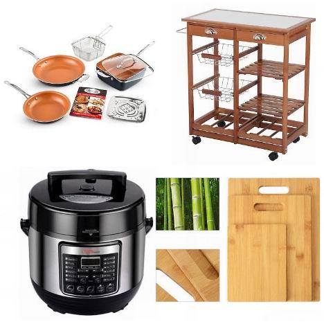 eBay节礼周大促!精选小家电、厨房用品及厨房家具等4折起+额外8折!
