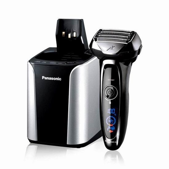金盒头条:Panasonic 松下 ES-LV95 Arc5 旗舰级 五刀头 男士电动剃须刀 289.99加元包邮!