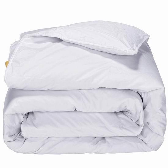 金盒头条:精选 Puredown 羽绒被、仿羽绒被、羽绒枕头等4.7折起!其中King羽绒被仅售 69.99加元!