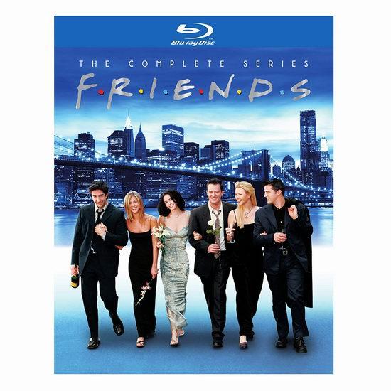 金盒头条:历史新低!《Friends 老友记》蓝光影碟版3.3折 66.99加元包邮!攻克英语必看美剧!