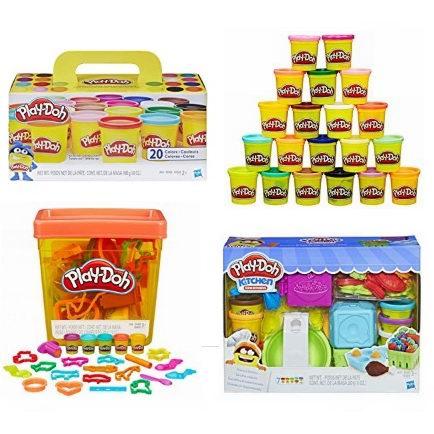金盒头条:精选多款 Play-Doh 培乐多 橡皮彩泥玩具2.8折起!售价低至2.19加元!
