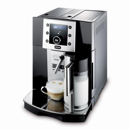 意大利 Delonghi 德龙 ESAM5500B Perfecta 数字全自动 专业意式咖啡机4.5折 899.99加元包邮!