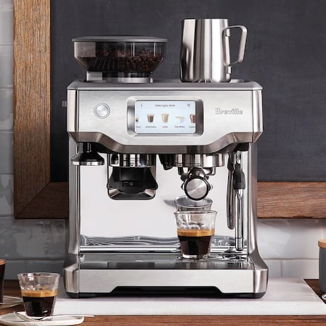 Breville 铂富 L.P. BES880BSS Barista Touch 专业级 智能意式咖啡机 8折 1199.97加元包邮!