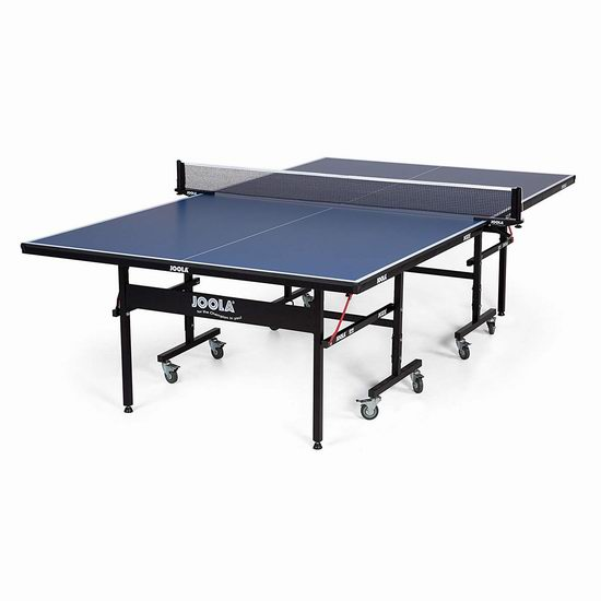 折扣升级!JOOLA 德国优拉 Inside 折叠式乒乓球桌5.6折 383.23加元包邮!