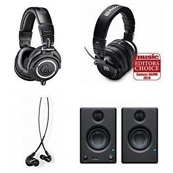 金盒头条:好价!精选 Shure、Audio-Technica、PreSonus 等品牌专业耳机、音箱、麦克风5.7折起!