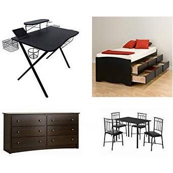 金盒头条:精选37款 Prepac、Monarch、Sauder 等品牌餐桌椅、床、双层床、书桌、办公椅、柜子、茶几、置物架等3.7折起!