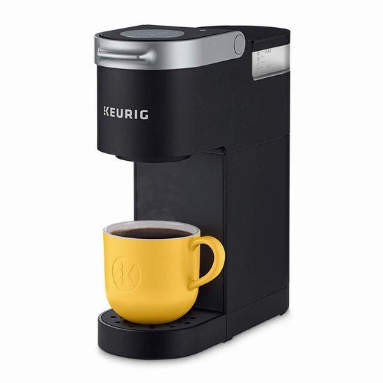 金盒头条:历史新低!Keurig K-Mini 超迷你胶囊咖啡机 47.99加元包邮!2色可选!