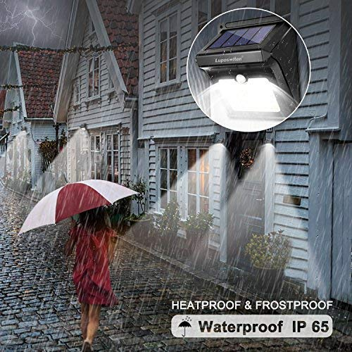 Luposwiten 28 LEDs 超亮太阳能防水运动感应灯2件套 26.39加元限量特卖并包邮!