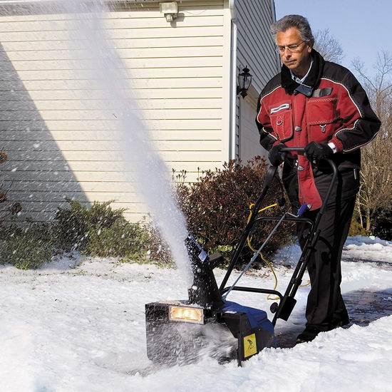 Snow Joe SJ623E 15安培18英寸电动铲雪机6.4折 179.99加元包邮!