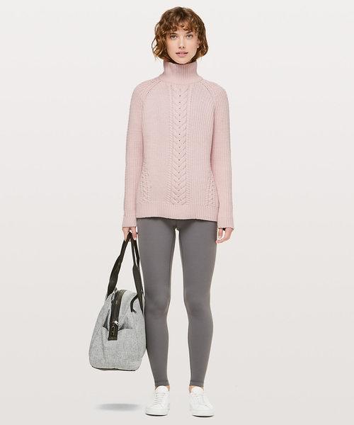 Lululemon 露露柠檬 Bring The Cozy高领毛衣 89加元,原价 158加元,包邮