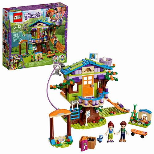 历史最低价!LEGO 乐高 41335 好朋友系列 娅的树屋(351pcs)4.8折 19加元!