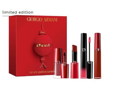 节日送好礼!Giorgio Armani 2019阿玛尼唇膏唇釉超值/限量套装 大量上新!