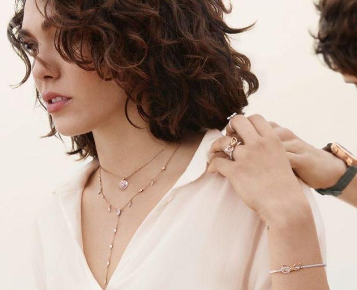 Swarovski 施华洛世奇 2019情人节 Lifelong Bow 系列 项链、手链、戒指、耳环浪漫上市!